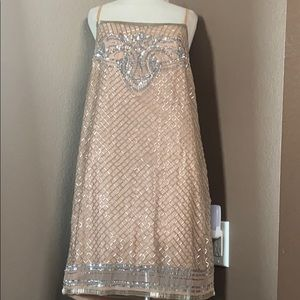 Cute beaded mini dress !